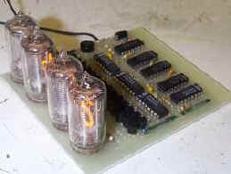 Build a Nixie-tube clock