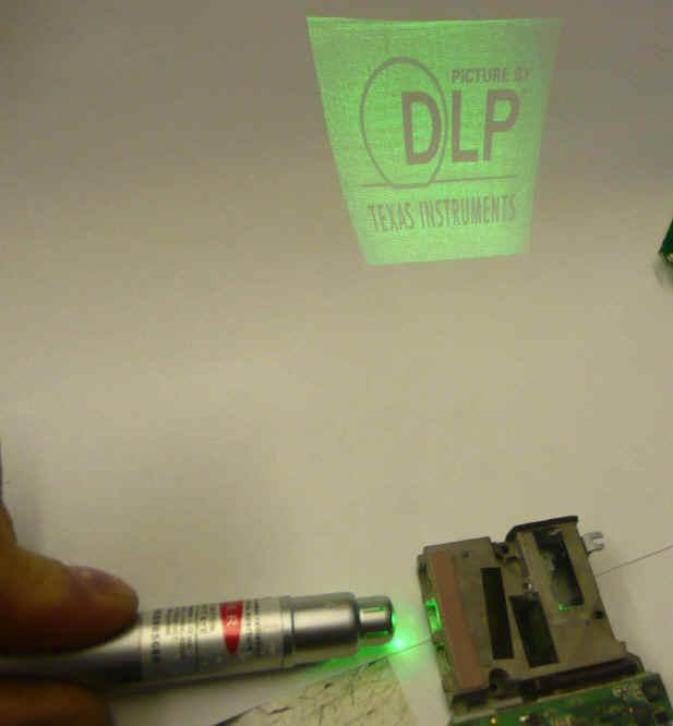 Pico Projector Internals